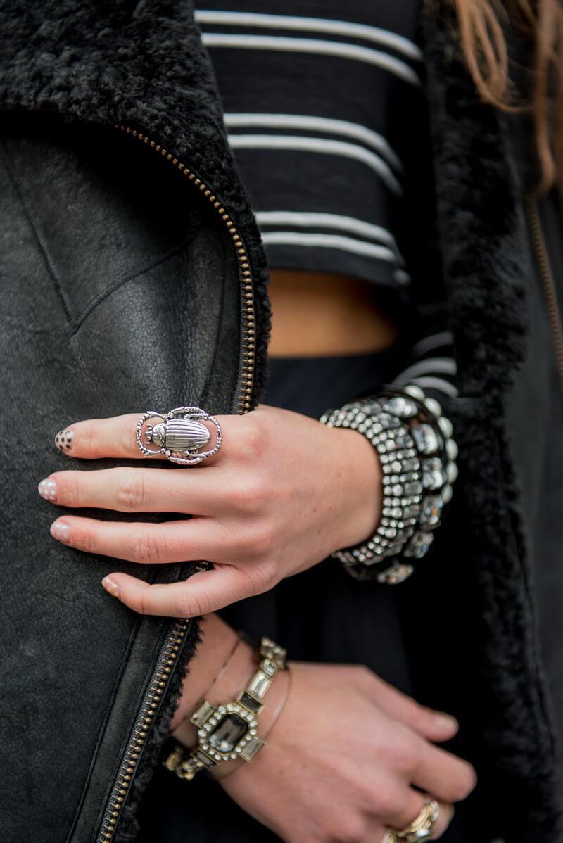The Village Vogue | A Fashion and Lifestyle Blog by Eliza Higgins |C. Wonder Lucite Cuff