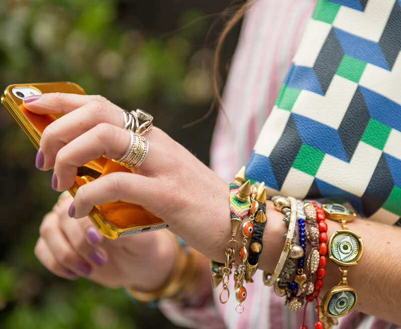 The Village Vogue | A Fashion and Lifestyle Blog by Eliza Higgins | Stacked Bangles