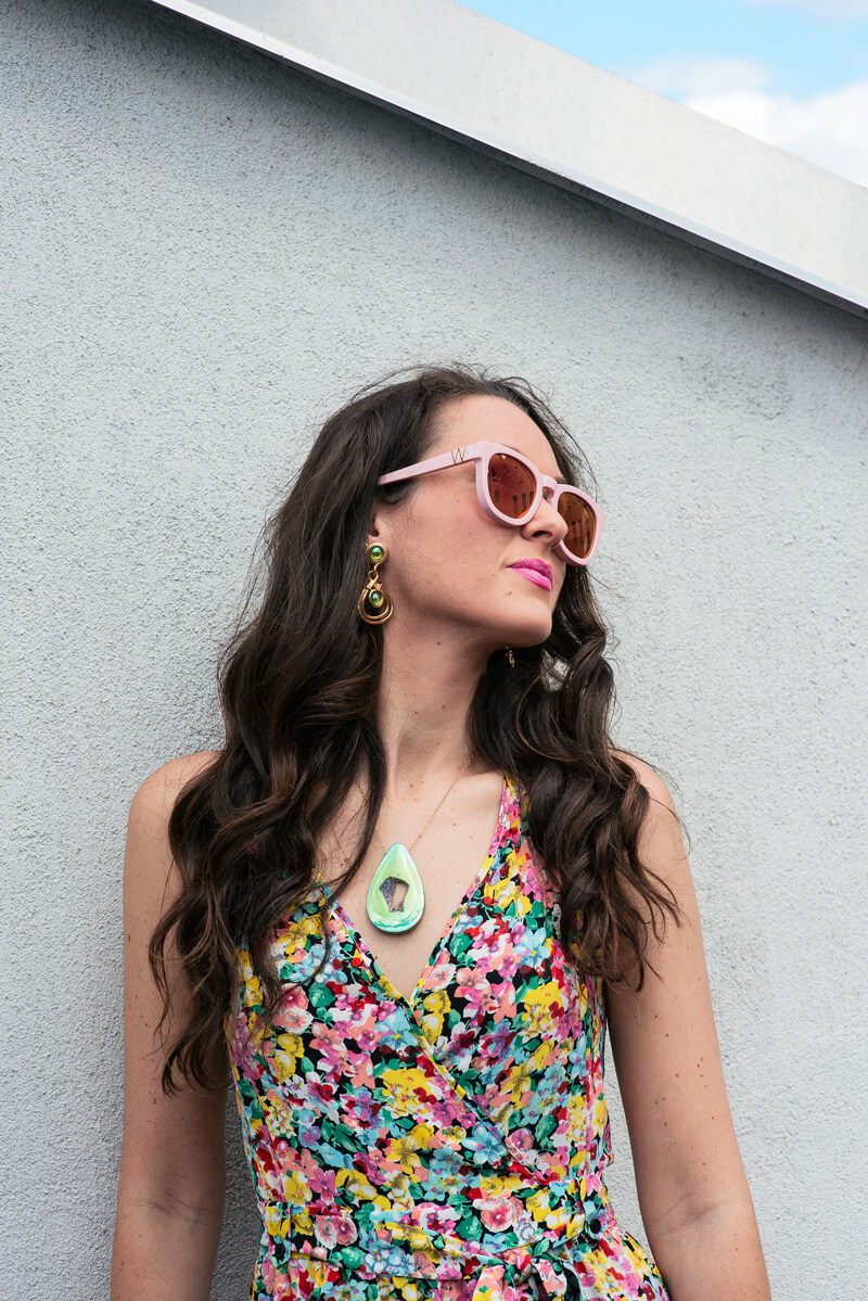 The Village Vogue | A Fashion and Lifestyle Blog by Eliza Higgins | Bellizaknight Necklace