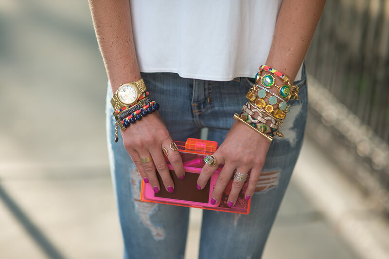 The Village Vogue - Stacked Bangles
