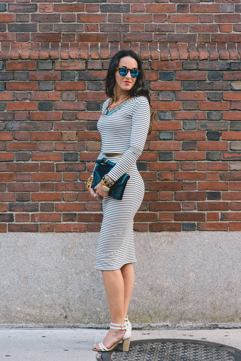 The Village Vogue - A Fashion and Lifestyle Blog by Eliza Higgins - Stripes On Stripes