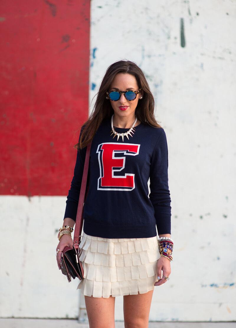 The Village Vogue - Equipment Sweater