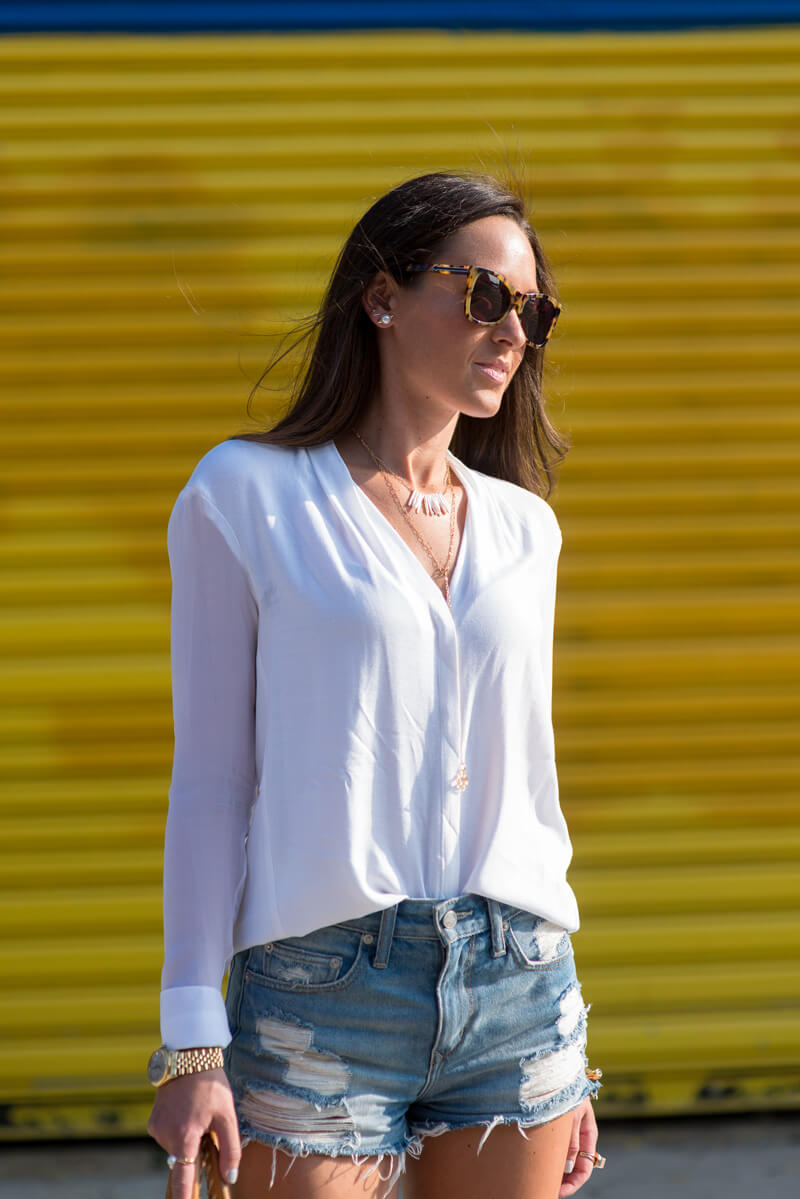 The Village Vogue - Lovers + Friends Cut Offs