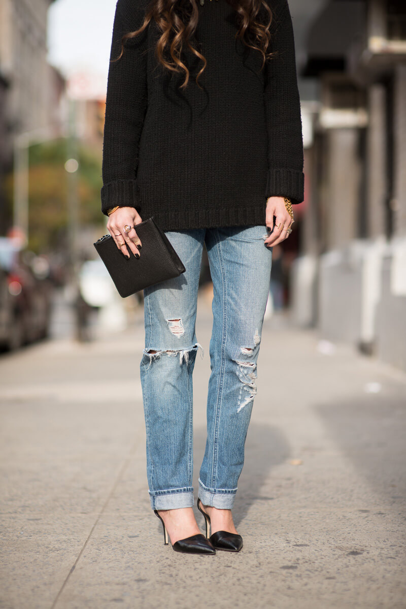 The Village Vogue - Monika Chiang Boyfriend Jeans