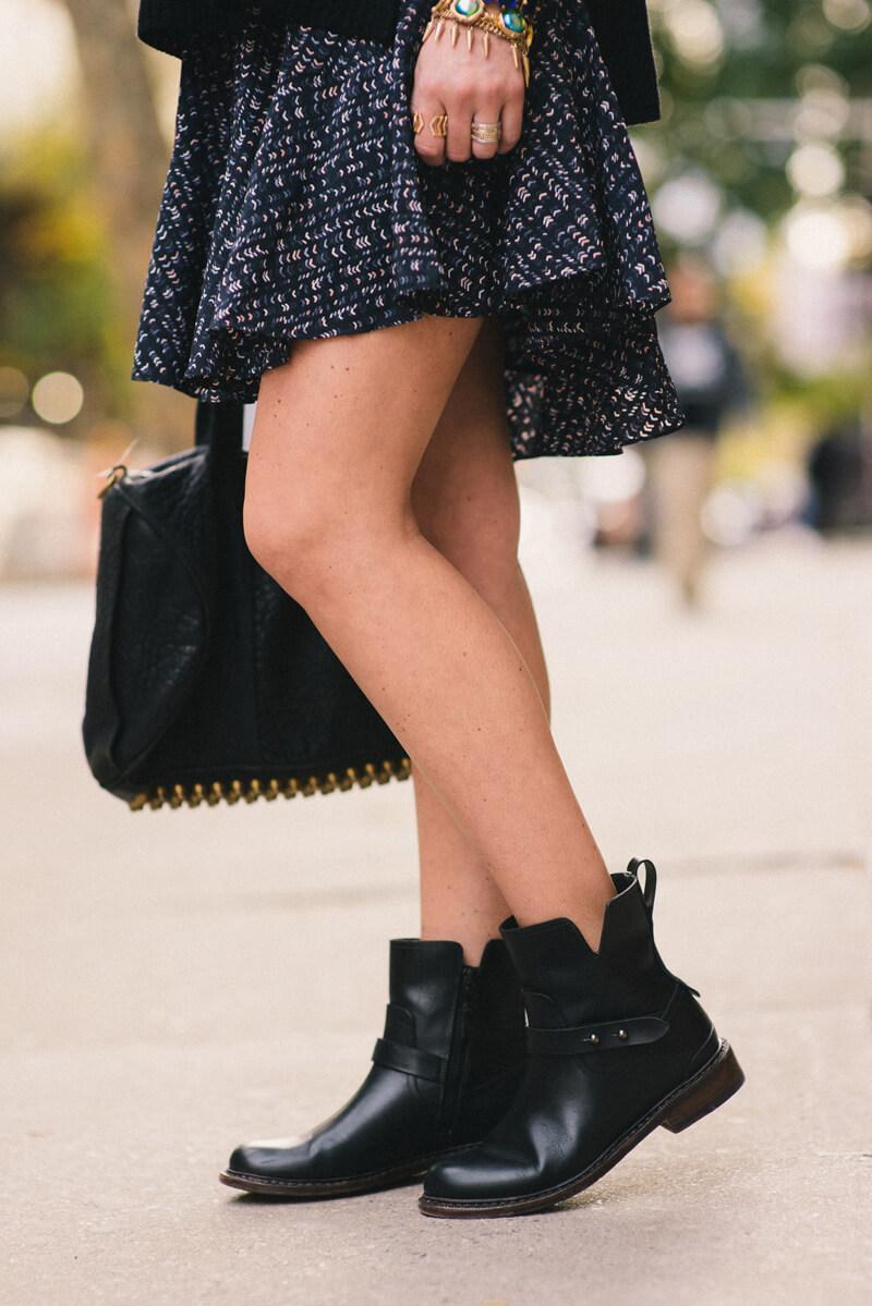 The Village Vogue - Rag & Bone Moto Boots
