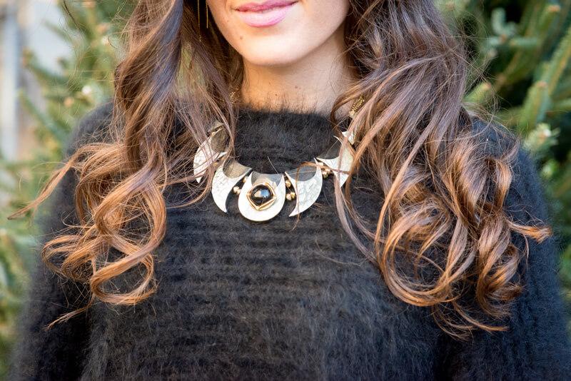 The Village Vogue - Belliza Knight Necklace