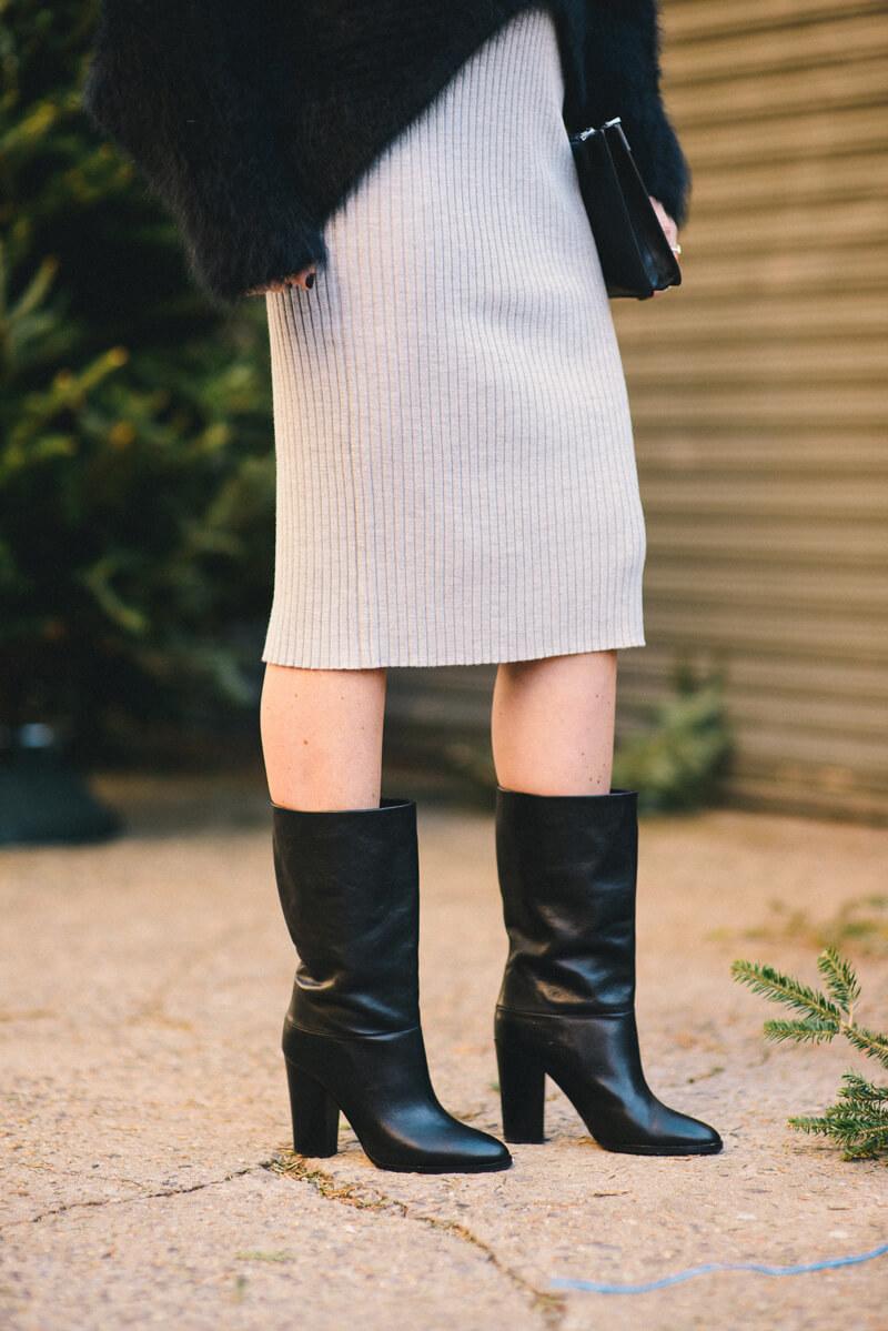 The Village Vogue - Club Monaco Sweater Skirt