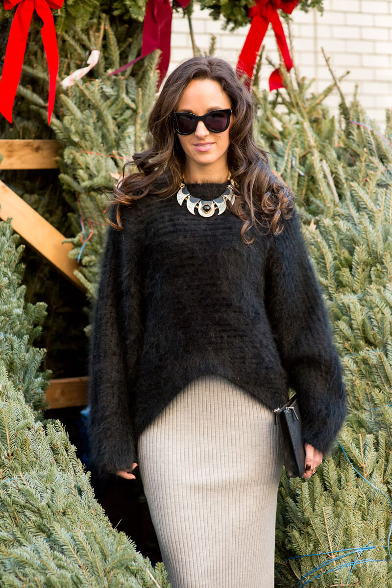 The Village Vogue - A How To In Sweater Dressing