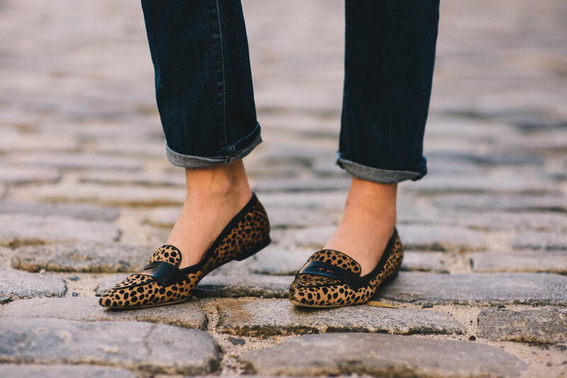 The Village Vogue - Club Monaco Loafers