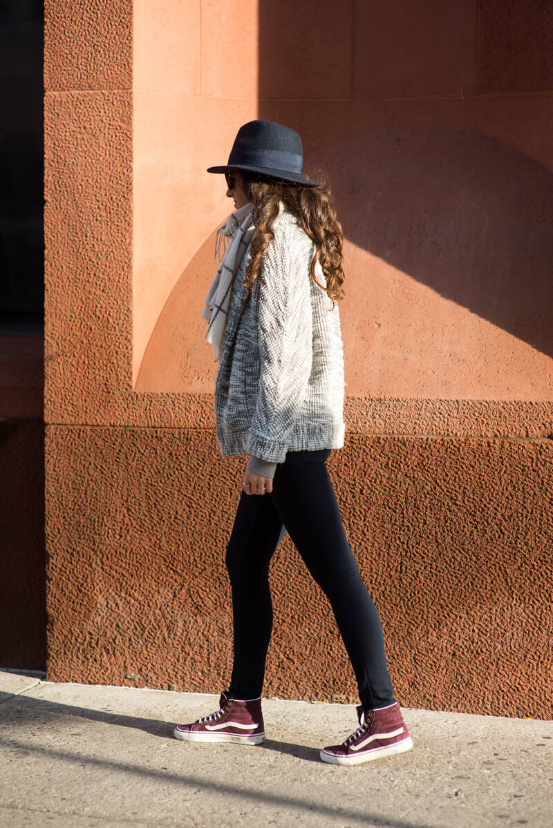 The Village Vogue - Club Monaco Sweater Jacket
