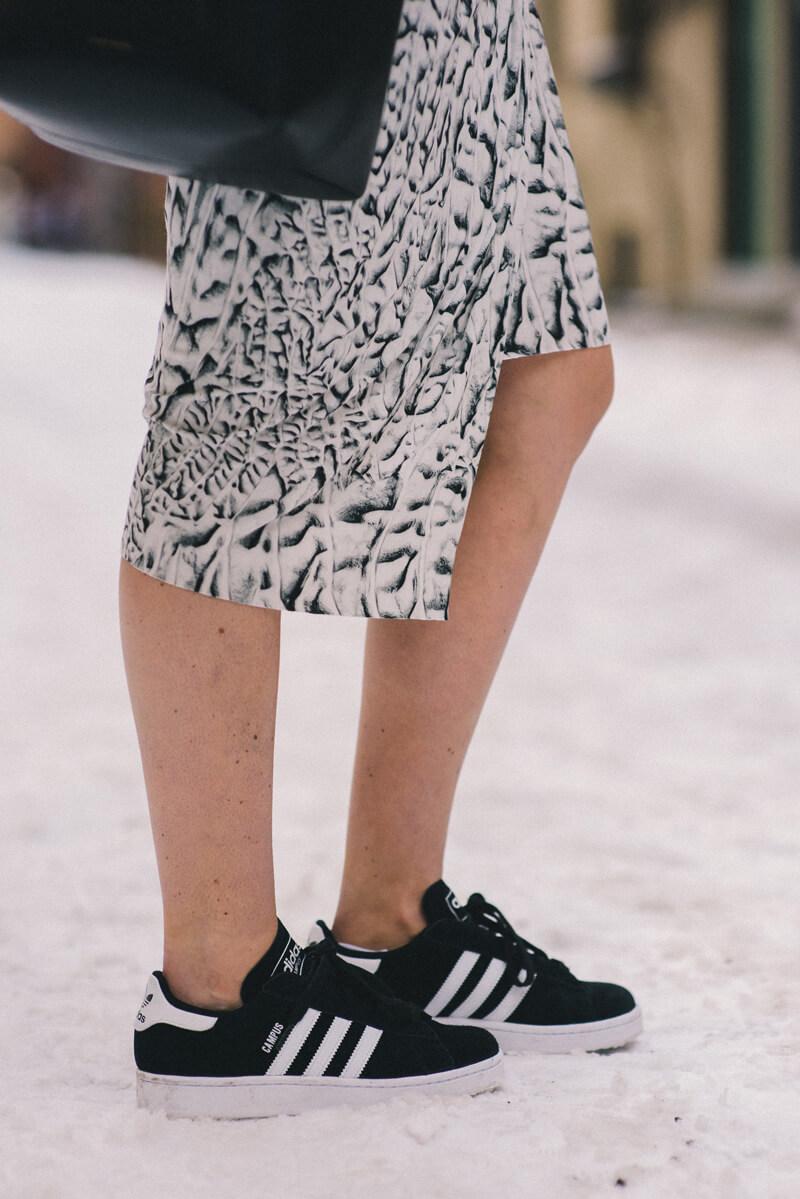 The Village Vogue - Adidas Campus Sneakers