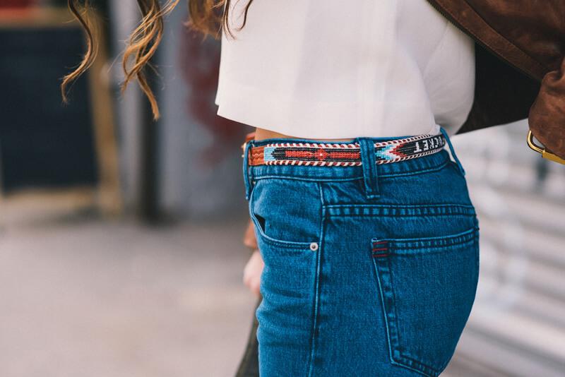 The Village Vogue - Beaded Belt