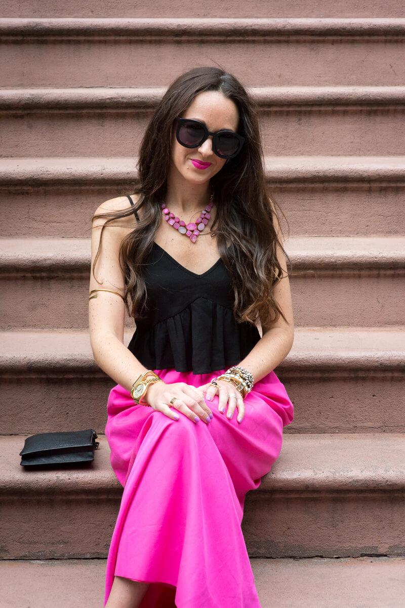 The Village Vogue - Pop Of Pink