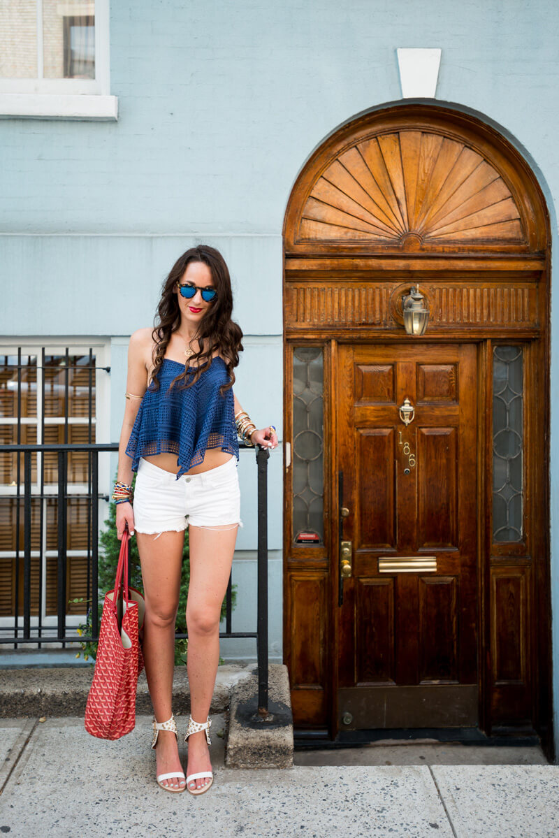 The Village Vogue - Red, White and Blue