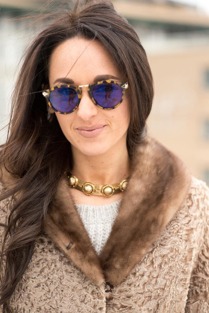 Karen Walker Sunglasses | thevillagevogue.com