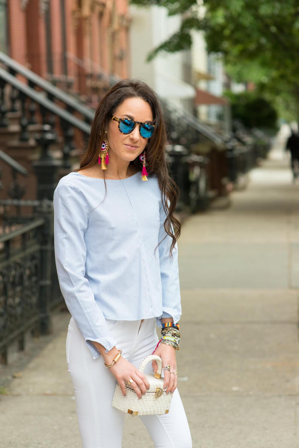 Mercedes Salazar Earrings | thevillagevogue.com