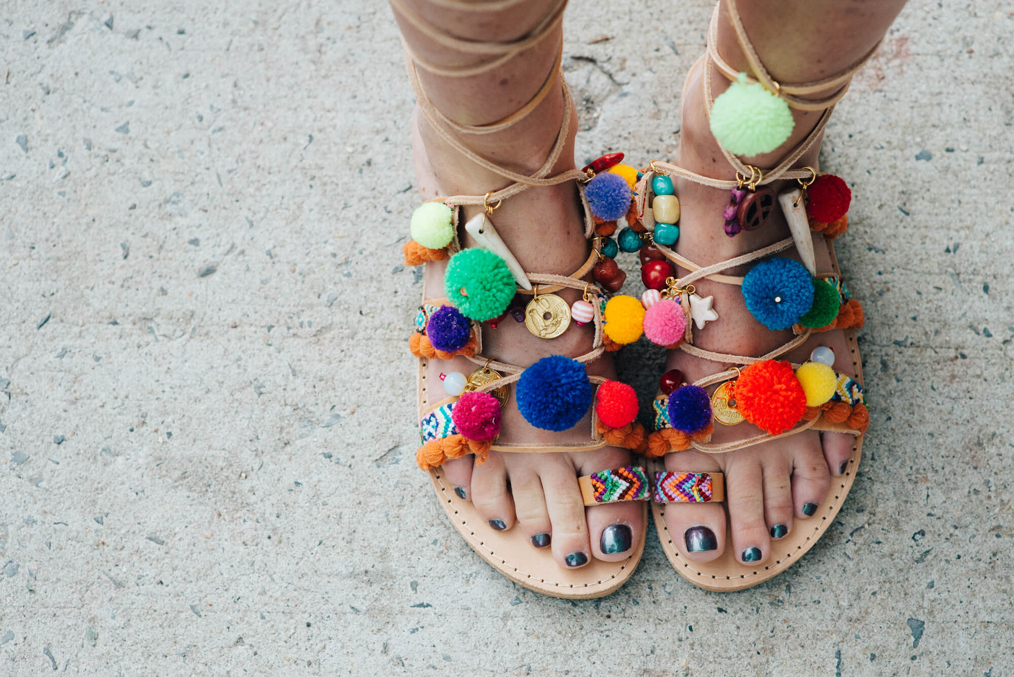Talking about THE sandals of summer by Elina Linardaki | thevillagevogue.com