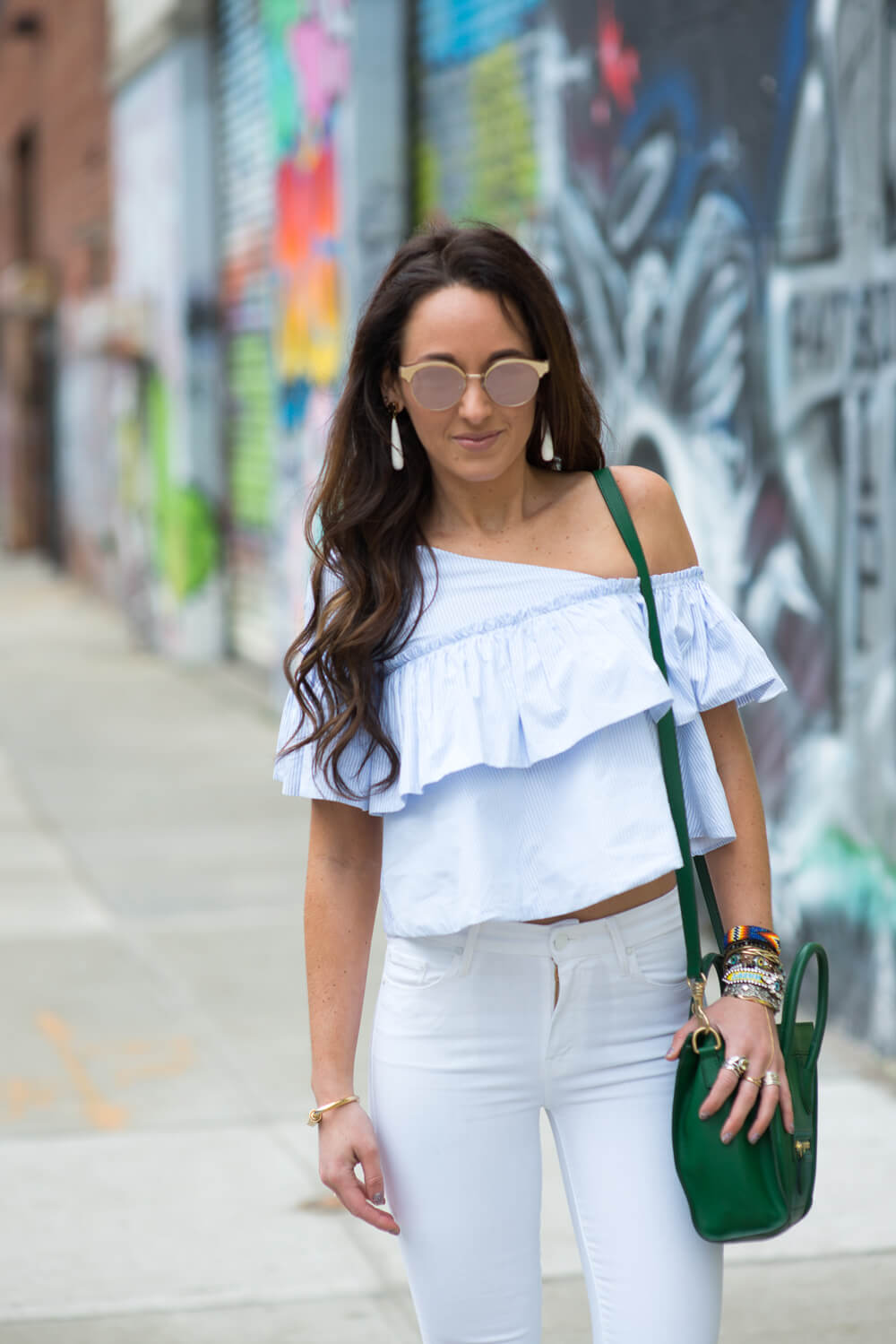 Rose tinted lenses a la Le Specs | thevillagevogue.com