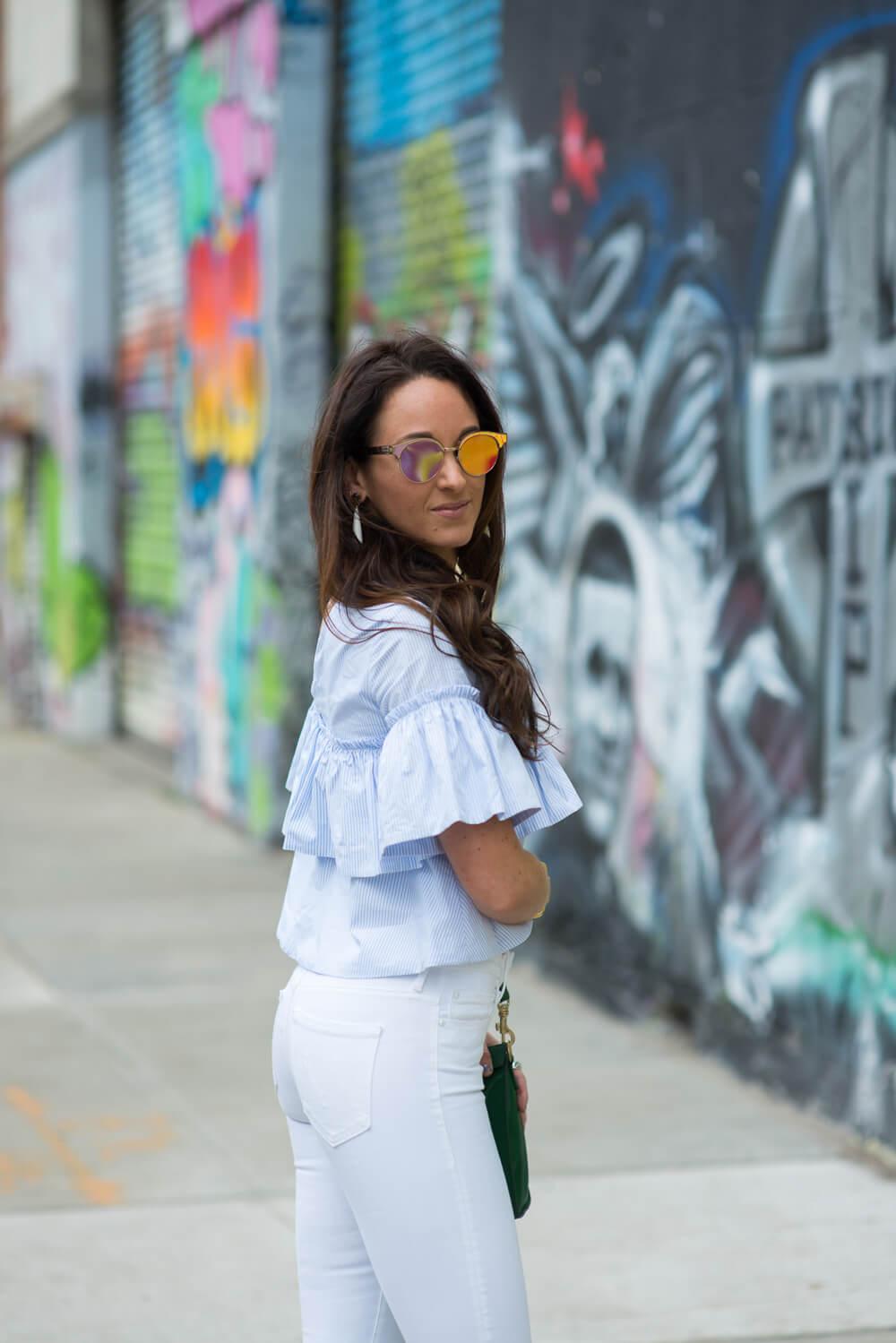 Rose tinted lenses a la Le Specs | thevillagevogue.com