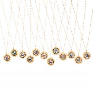 Zodiac Intaglio Necklaces