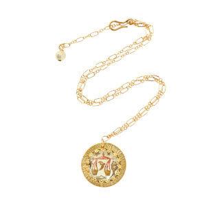 Zodiac Intaglio Libra Necklace